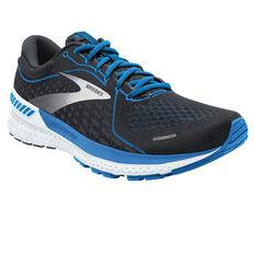 Brooks Adrenaline GTS 21 Mens Running Shoes Navy/White US 8, Navy/White, rebel_hi-res