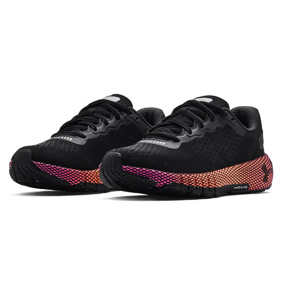 Under Armour HOVR Machina 2 Colourshift Womens Running Shoes, Black, rebel_hi-res