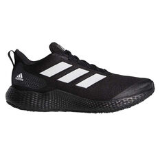 adidas Edge Gameday Mens Running Shoes Black/White US 7, Black/White, rebel_hi-res
