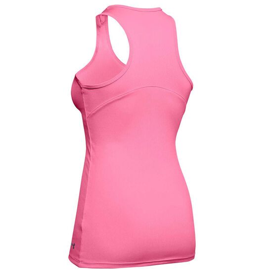 Under Armour Womens Victory Tank, Pink, rebel_hi-res