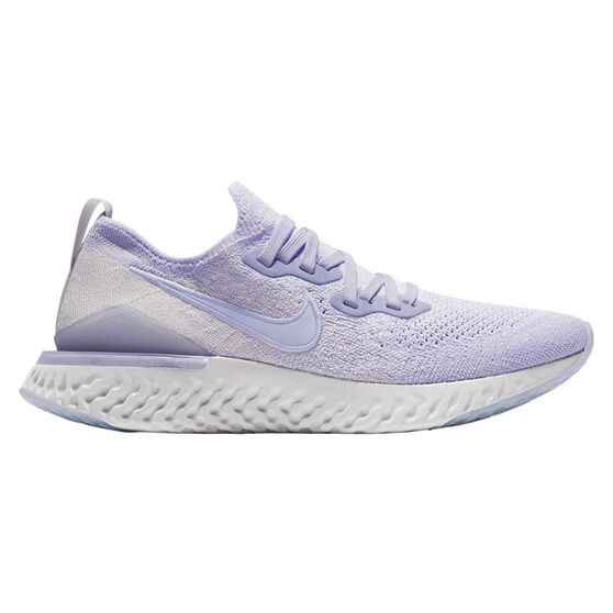 Nike Epic React Flyknit 2 Womens Running Shoes, Purple, rebel_hi-res