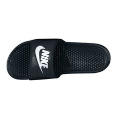 Nike Benassi Mens Slides Black / White 7, Black / White, rebel_hi-res