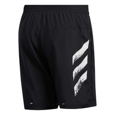 adidas Mens Run It Shorts Black XS, Black, rebel_hi-res