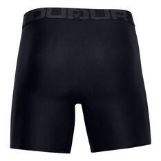 Under Armour Mens Tech 6in Underwear Black XS, Black, rebel_hi-res