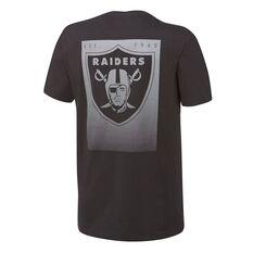 Majestic Mens Las Vegas Raiders Lance Tee Black S, Black, rebel_hi-res