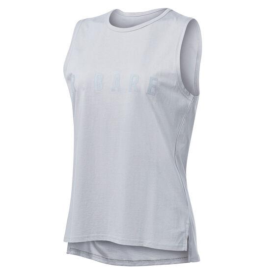Running Bare Womens Easy Rider Muscle Tank Grey 16, Grey, rebel_hi-res