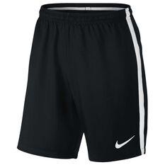 Nike Mens Dry Football Shorts Black / White S Adults, Black / White, rebel_hi-res
