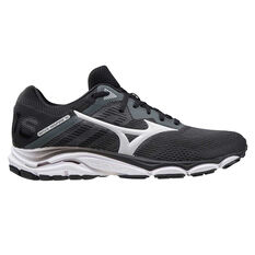 Mizuno Wave Inspire 16 Mens Running Shoes Black/White US 8, Black/White, rebel_hi-res