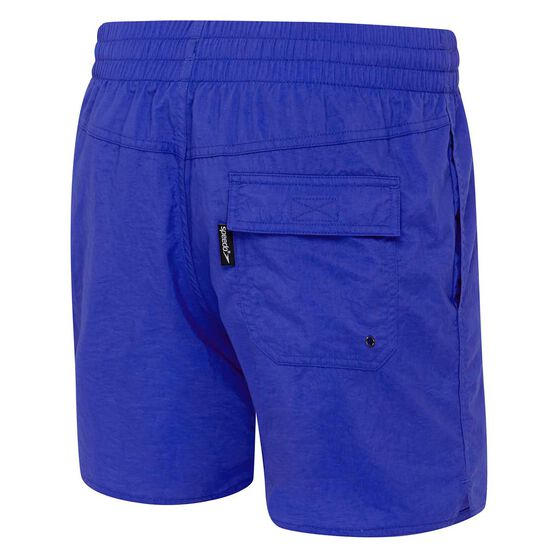 Speedo Men's Classic Boardshorts, Blue, rebel_hi-res