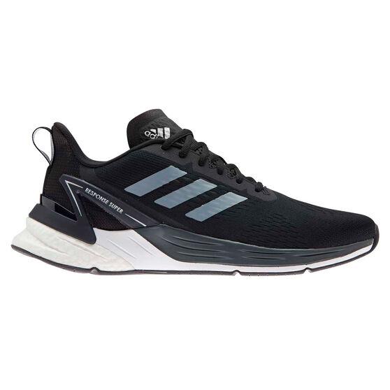 adidas Response Super Mens Running Shoes, Black/White, rebel_hi-res