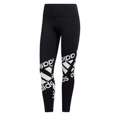 adidas Womens Believe This Disrupt Tights Black XS, Black, rebel_hi-res