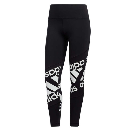 adidas Womens Believe This Disrupt Tights, Black, rebel_hi-res