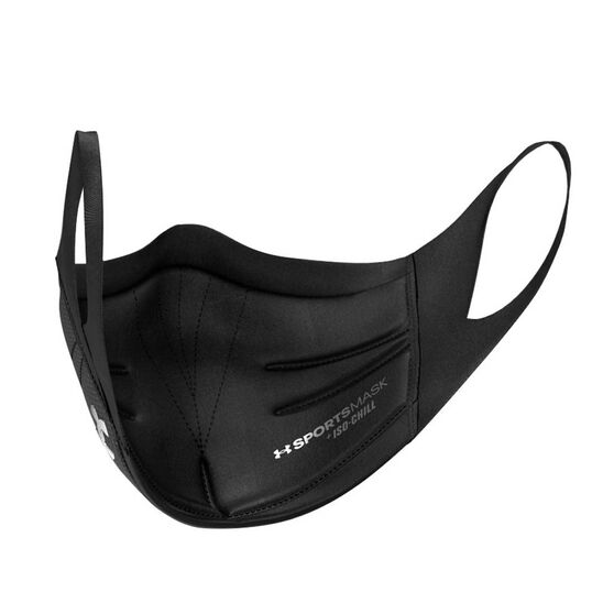 Under Armour Sports Mask, Black, rebel_hi-res