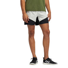 adidas Mens Studio Tech Shorts White S, White, rebel_hi-res