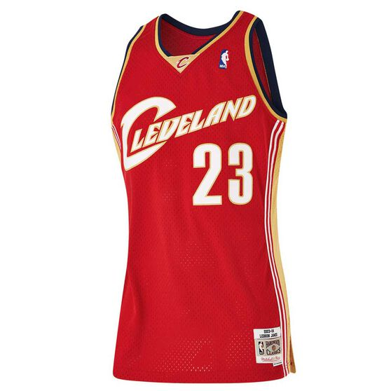 cheap for discount 47a38 3c314 Cleveland Cavaliers LeBron James Mens Road Swingman Jersey S