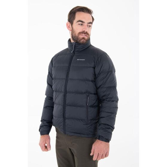 Macpac Mens Halo Jacket, Black, rebel_hi-res