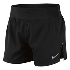 Nike Womens Flex 5 Inch Running Shorts Black XS, Black, rebel_hi-res