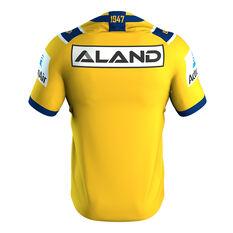 Parramatta Eels Nines 2020 Mens Jersey Yellow S, Yellow, rebel_hi-res