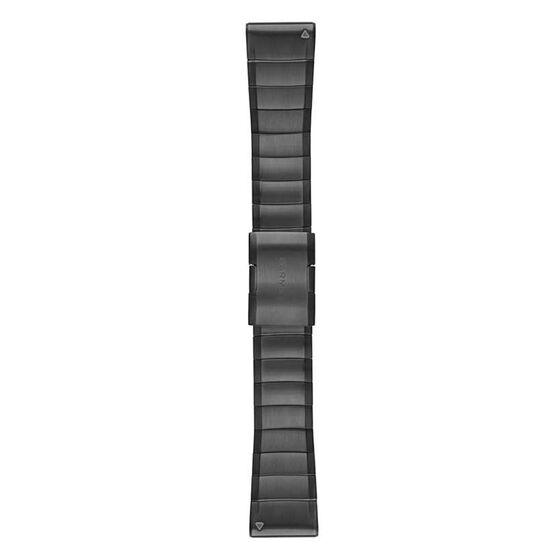 Garmin QuickFit 26mm Carbon Gray Titanium Watch Band, , rebel_hi-res