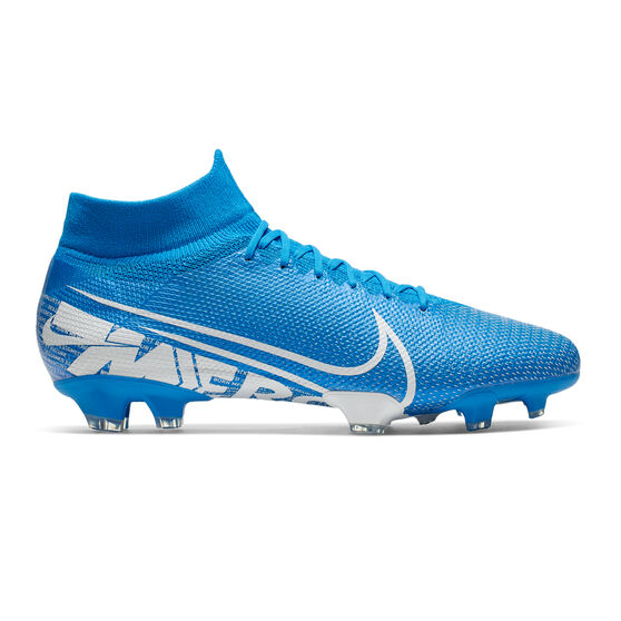 Nike Mercurial Superfly VII Pro Football Boots, Blue / White, rebel_hi-res