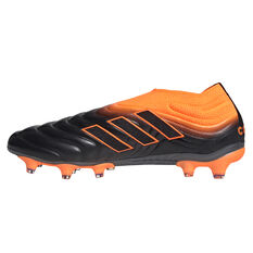 adidas Copa 20+ Football Boots Black/Orange US Mens 7 / Womens 8, Black/Orange, rebel_hi-res
