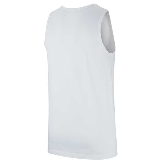 Nike Mens Sportswear Just Do It Tank, White, rebel_hi-res