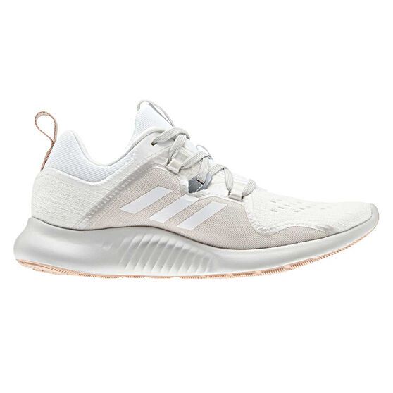 adidas Edgebounce Womens Running Shoes, White / Grey, rebel_hi-res