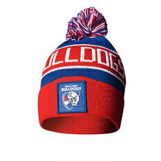 Western Bulldogs Bar Beanie OSFA, , rebel_hi-res