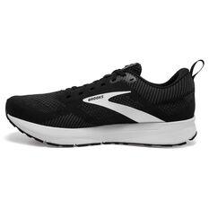 Brooks Revel 5 Mens Running Shoes Black/Grey US 8, Black/Grey, rebel_hi-res