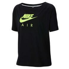 Nike Mens Sportswear Nike Air Tee Black XS, Black, rebel_hi-res