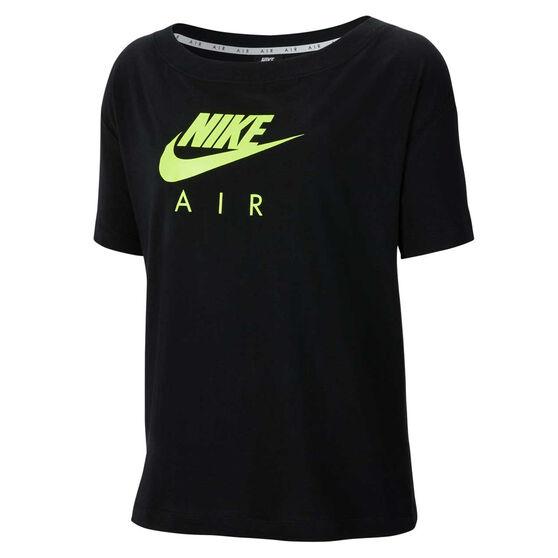 Nike Womens Sportswear Nike Air Tee, Black, rebel_hi-res