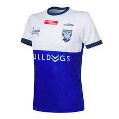Canterbury-Bankstown Bulldogs 2021 Mens Training Tee Blue S Blue, Blue, rebel_hi-res
