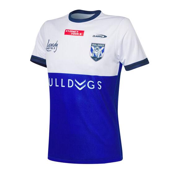 Canterbury-Bankstown Bulldogs 2021 Mens Training Tee, Blue, rebel_hi-res