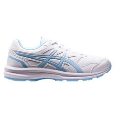 Asics Gel Mission 3 Womens Training Shoes White / Blue US 6, White / Blue, rebel_hi-res