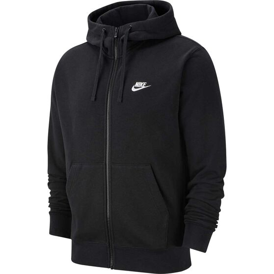 460758f5792a4 Nike Mens Sportswear Club Full-Zip French Terry Hoodie