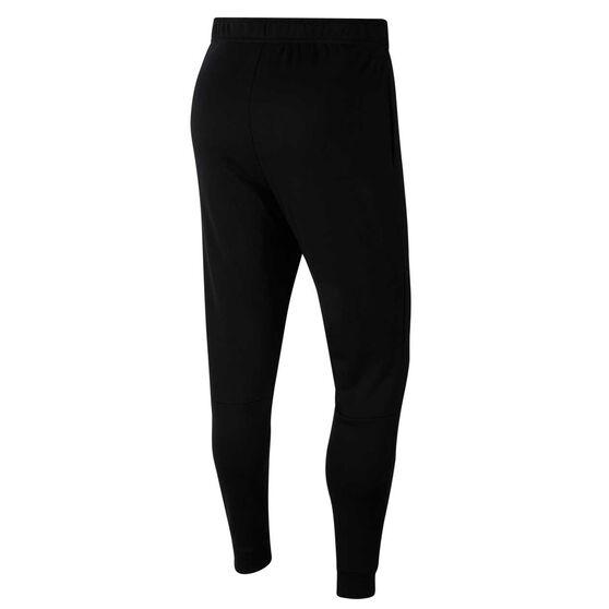 Nike Mens Dri-FIT Fleece Training Pants, Black, rebel_hi-res
