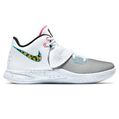 Nike Kyrie Flytrap III Mens Basketball Shoes White/Black US 7, White/Black, rebel_hi-res