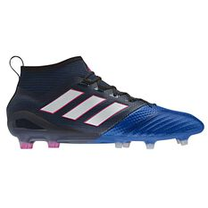 adidas Ace 17.1 Primeknit Mens Football Boots Black / White US 7 Adult, Black / White, rebel_hi-res