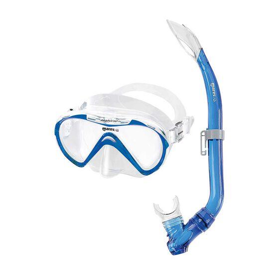 Mares Seahorse Junior Mask and Snorkel Blue, , rebel_hi-res