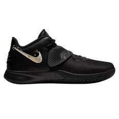 Nike Kyrie Flytrap III Mens Basketball Shoes Black/Gold US 7, Black/Gold, rebel_hi-res