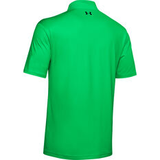Under Armour Mens Performance Polo Green XS, Green, rebel_hi-res