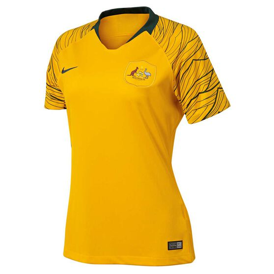 b26a2013bd6 Socceroos 2018 Womens Home Football Jersey S