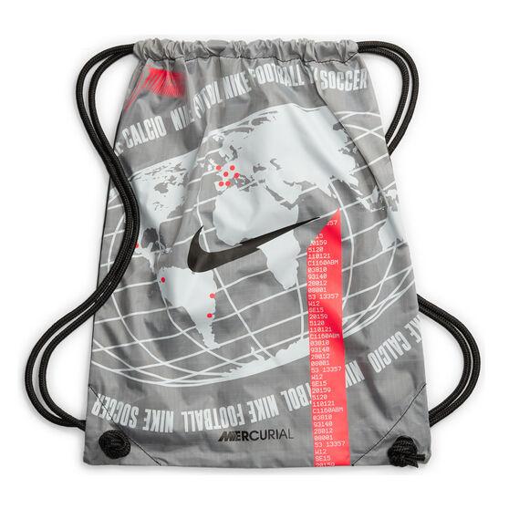 Nike Mercurial Superfly VII Elite Football Boots, Silver/Red, rebel_hi-res