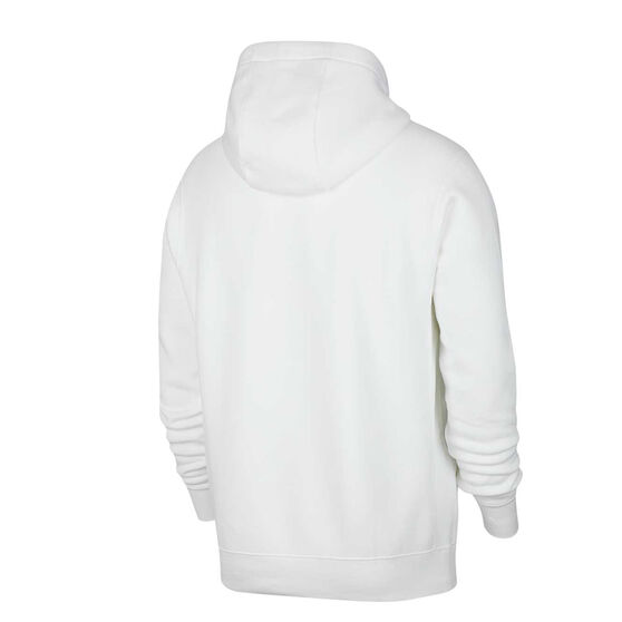 Nike Sportswear Mens Just Do It Fleece Hoodie, White, rebel_hi-res