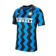 Inter Milan 2020/21 Mens Home Jersey Blue S, Blue, rebel_hi-res