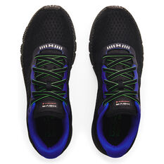 Under Armour HOVR Machina 2 Mens Running Shoes, Black/Grey, rebel_hi-res