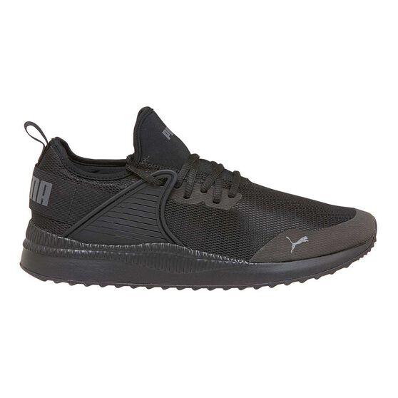 Puma Pacer Next Cage Mens Casual Shoes Black   Black US 11  d7ad94f77