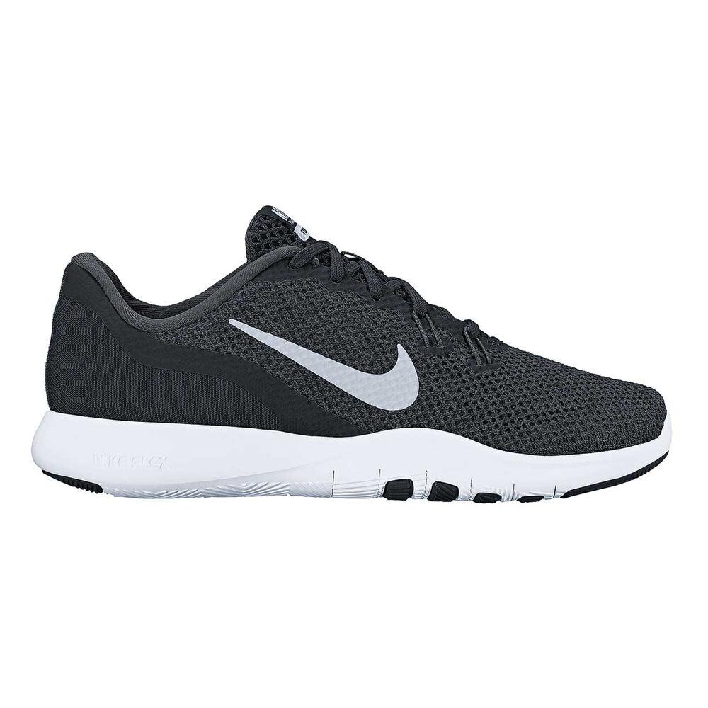 2b90c90c35ba6 Nike Flex Trainer 7 Womens Training Shoes Black   Silver US 6 ...