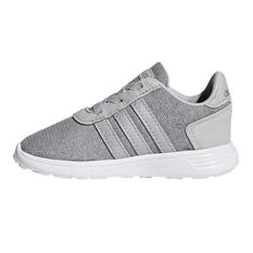 adidas Lite Racer Toddlers Shoes Grey / Silver US 3, Grey / Silver, rebel_hi-res