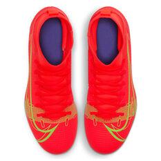 Nike Mercurial Superfly 8 Club Kids Football Boots, Crimson, rebel_hi-res